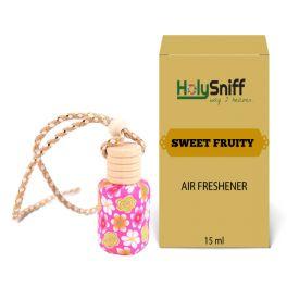 Sweet Fruity hanging Air Freshener for Car(15 ML)