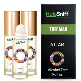 Tuff-Men Attar Roll On ( 15 ml),Alcohol Free And Long Lasting